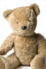 'Big Ted'  toy from BBC TV's 'Play School'  c 1970s.