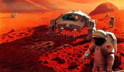 Humans on Mars.