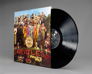 'Sgt Peppers Lonely Hearts Club Band'  vinyl LP record by The Beatles  1967.