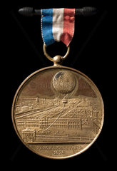 'Panorama of Paris'  souvenir medal  1878.