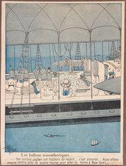 'Transatlantic Balloons'  1901.