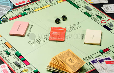 Monopoly board game  c 1990.