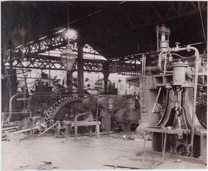 Big Mill Steel Works  South Wales  1880-1895.