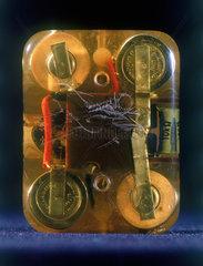 Internal cardiac pacemaker  1961-1962.