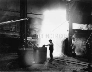 Steel foundry  1919.