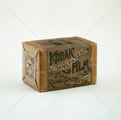 Original Kodak film pack  c 1890.