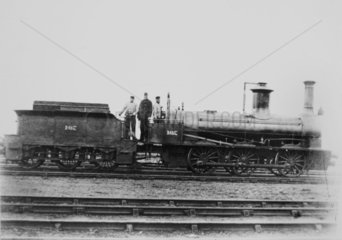 Stockton & Darlington railway 0-6-0 no. 107.