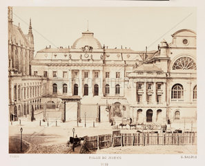 'Palais de Justice'  Paris  c 1865.