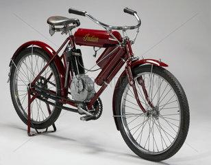 'Indian' motor cycle  c 1905.