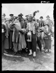 Tipsters at Epsom  Surrey  5 June  1935.
