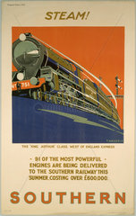 'Steam!'  SR poster  1925.