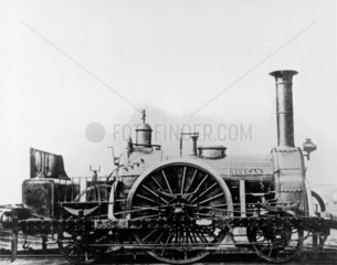 'Vulcan' steam locomotive  late 19th Cent