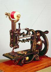 Weir sewing machine  1872.