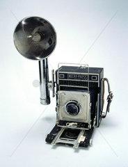 MPP Micro-Press 5X4 press camera  c 1951-1956.