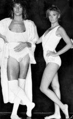 Rod Stewart and Britt Ekland  8 November 1979.