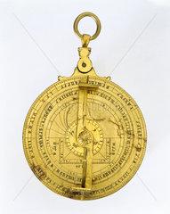 Hispano-Moorish planispheric astrolabe  c 1430.