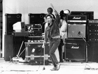 Bob Geldof  Irish musician  November 1985.