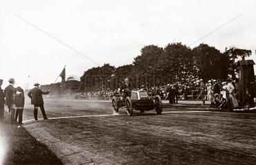 C S Rolls on the finishing line at Phoenix Park  Dublin  Ireland  1903.