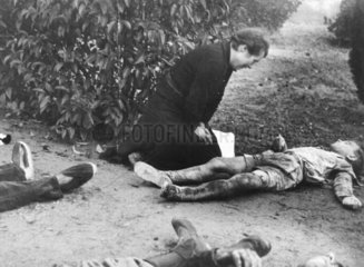Lerida bombing victims  2 November 1937.