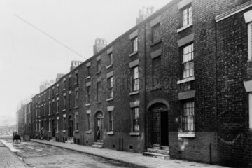 Slums in Liverpool  4 March 1933.