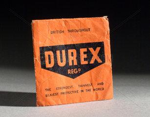 Durex condom  1940-1955.