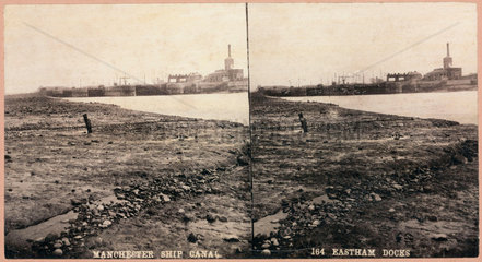 'Manchester Ship Canal  Eastham Docks'  1893-1894.