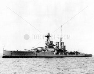 HMS 'Tiger'  British warship  1913.