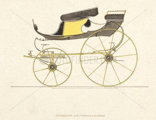 High flyer phaeton carriage  1816.