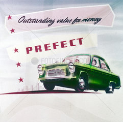 Ford Prefect  c 1950s-1960s.