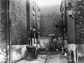No 12 Court  Gomer St  Liverpool  c 1935.