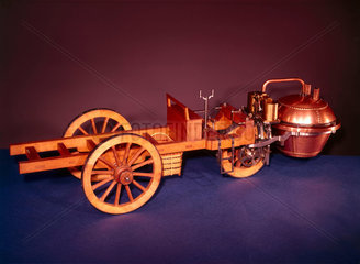 Cugnot's steam traction engine  1770.