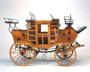 Royal Mail coach  c 1800.