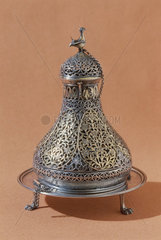 Silver incense burner  Persian  c 1750-1900.