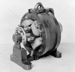 First (single or polyphase) AC Commutator  1887.