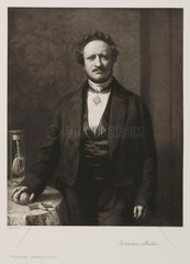 Johannes Peter Muller  German physiologist  c 1850.
