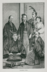 'Japanese types'  1888.