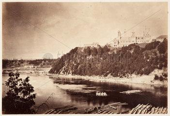 'Barrack Hill Ottawa'  1860.