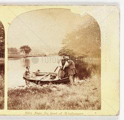 'Near the head of Windermere'  c 1865 .