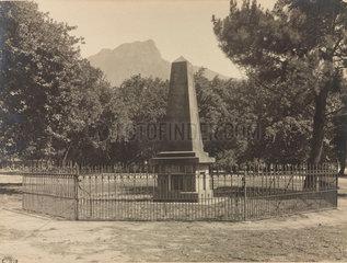 Herschel's Monument  Feldhausen  Claremont  South Africa  1909.