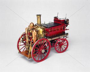 Steam fire engine  c 1905.