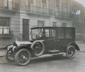 Limousine Launderlette with drivers door  passenger door and let down door at the rear