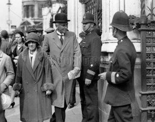 Sir John Simon (1873-1954)  English politician  8 September 1931.
