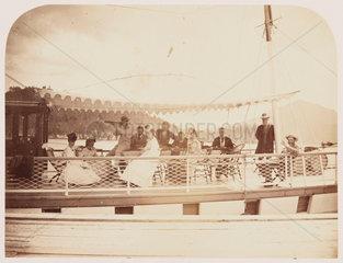 'Allen's Yacht'  1860.