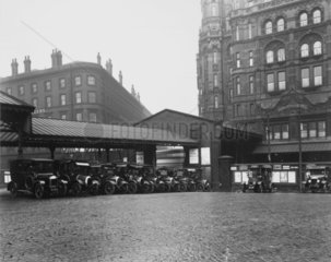 Midland Hotel  Manchester Central Station  29 October 1929.