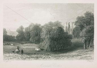 Malahide Castle  Ireland  1836.