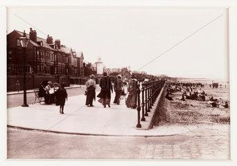 'Hoylake Promenade'  c 1894.