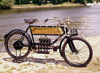 FN 3 hp four-cylinder motor cycle  1905.