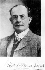 Herbert Akroyd Stuart  English inventor  c c 1900.