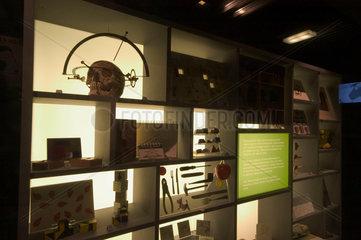 Psychology Gallery display  Science Museum  London  2007.