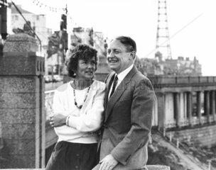 Neil and Glenys Kinnock  1980s.